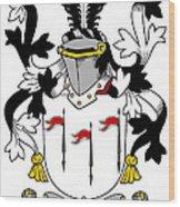 Mcalindem Coat Of Arms Irish Wood Print