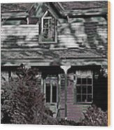 Mcalmond House Wood Print