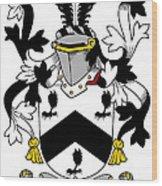 Mcbray Coat Of Arms Irish Wood Print