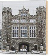 Mcbride Gateway - Bryn Mawr College Wood Print