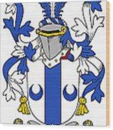 Mccall Coat Of Arms Irish Wood Print