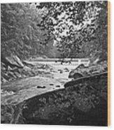 Mcconnell Mills Wat 246 Wood Print by G L Sarti