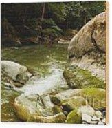 Mcconnells Mills Rocks 3 Wood Print