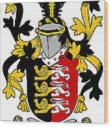 Mcconsidine Coat Of Arms Irish Wood Print