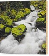 Mccord Creek, Columbia Gorge Wood Print