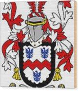 Mccormick Coat Of Arms Irish Wood Print