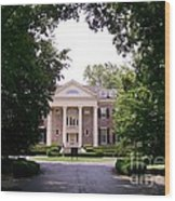 Mccormick Mansion From The Drive Wood Print