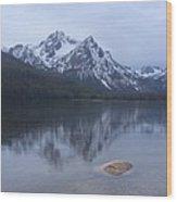 Mcgowan Peak 1 Wood Print