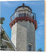 Mcgulpin Point Lighthouse Michigan Wood Print