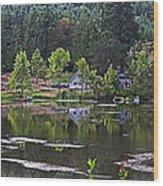 Mcintosh Lake In Washington Wood Print