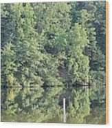 Mckamey Lake Serenity Wood Print