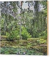 Mckee Botanical Gardens Wood Print