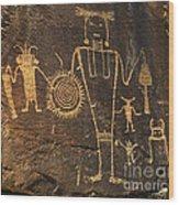 Mckee Ranch Petroglyphs Wood Print