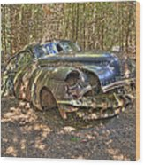 Mcleans Auto Wrecker - 11 Wood Print