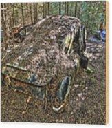 Mcleans Auto Wrecker - 12 Wood Print