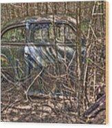 Mcleans Auto Wrecker -13 Wood Print