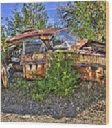 Mcleans Auto Wrecker - 2 Wood Print