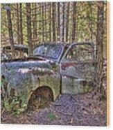 Mcleans Auto Wrecker - 3 Wood Print