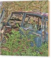 Mcleans Auto Wrecker - 4 Wood Print