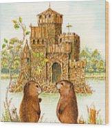 Mclodge Wood Print