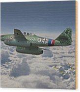 Me 262 - Stormbird Wood Print