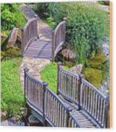 Meandering Pathway Wood Print