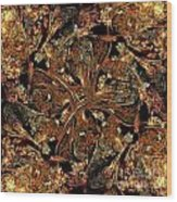 Meandering Pattern Wood Print