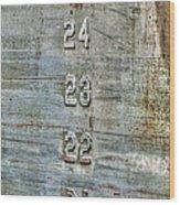 Measure Of Draft Wood Print