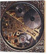 Mechanical Wood Print by John Rizzuto
