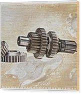 Mechanical Life Wood Print by Stephen Baker