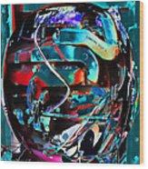 Mechanical Sphere Wood Print