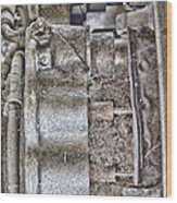 Mechanics Of Landing Gear Wood Print