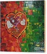 Mechanism Of Love Wood Print