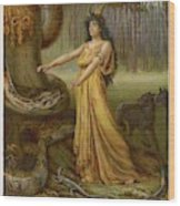 Medea, Daughter Of Aeetes King Wood Print