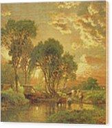 Medfield Massachusetts Wood Print