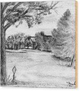 Medford Farm Wood Print