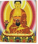 Medicine Buddha 10 Wood Print
