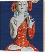 Medicine Buddha 2 Wood Print