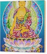 Medicine Buddha 7 Wood Print