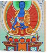 Medicine Buddha 9 Wood Print