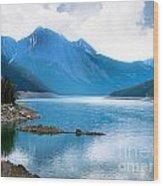 Medicine Lake Wood Print