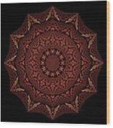 Medicine Wheel Dragonspur Fractal K12-4 Wood Print