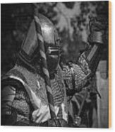 Medieval Faire Knight's Victory 1 Wood Print