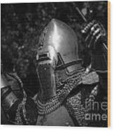 Medieval Faire Knight's Victory 2 Wood Print