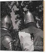 Medieval Faire Planning Strategies Wood Print