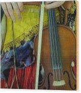 Medieval Gypsy Wood Print