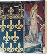 Medieval Tapestry Wood Print by France  Art