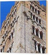 Medieval Tower Wood Print