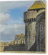 Medieval Towers Wood Print