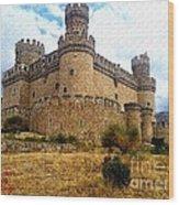Medievel Castle Wood Print